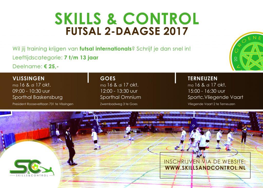 Skills & Control Futsal Event 2017