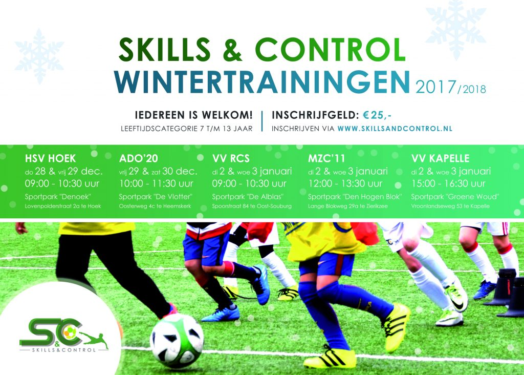 SnC_A3 poster_wintertrainingen 2017